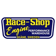 "Race-Shop ""Engine"" Sticker. 250mm x 100mm."